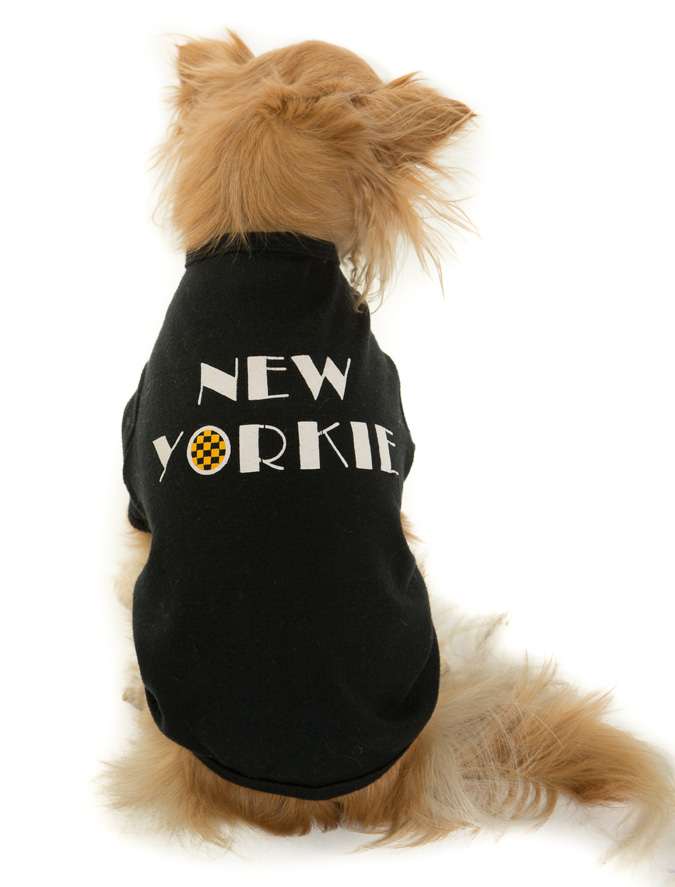 New Yorkie Dog T-shirt Alt