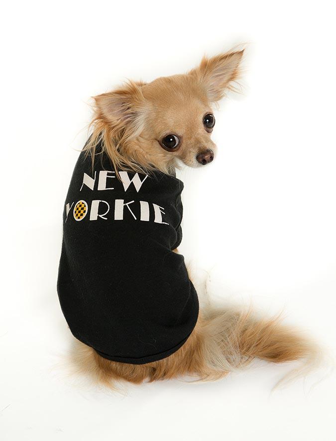 New Yorkie Doggie T-Shirt