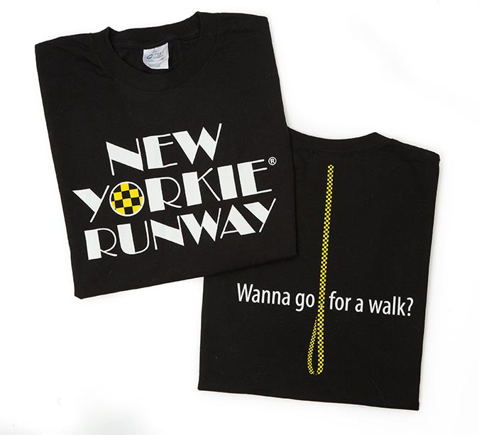 New Yorkie Runway T-Shirt