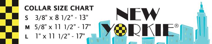 New Yorkie Sizing Chart Collars