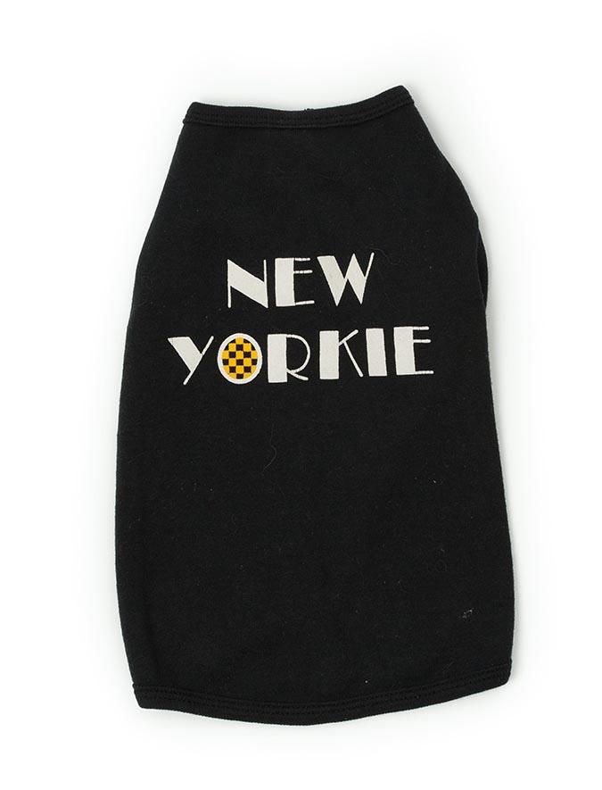New Yorkie Doggie T-Shirt Alt
